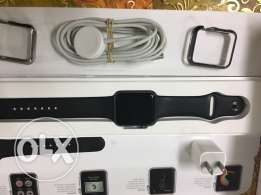 Apple watch 42 M space with 2 covers