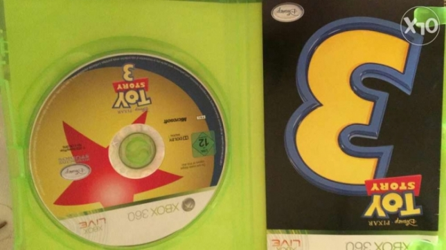 مطلوب مطلوب toy story 3 for x box 360