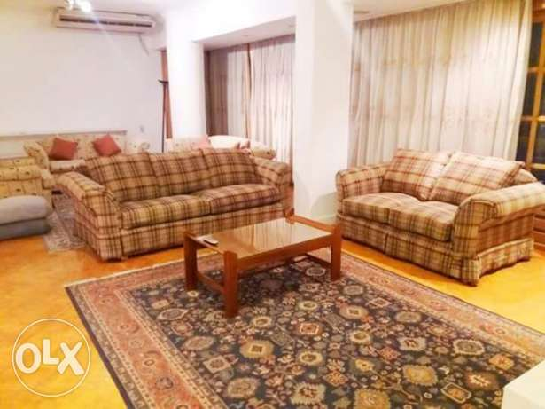 --flat in maadi for rent furnished 3 bedrooms المعادي -  5
