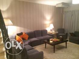 villa with pool fully furnished for rent in Rehab