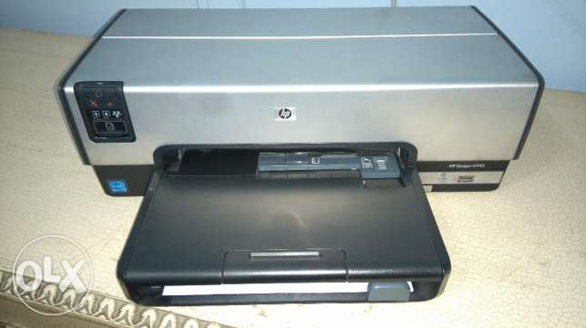 excellent new condition printer HP Deskjet 6943 colors
