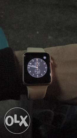 apple whatch rose gold 42 m شبرا -  2