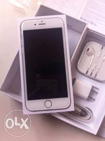 iphone 6 16GB silver mint condition