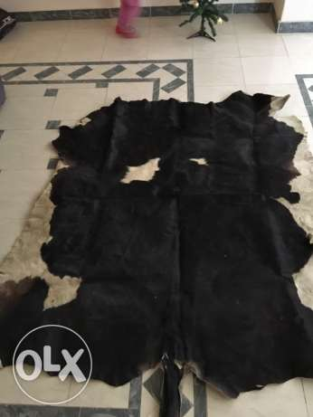 Cow Natural Leather Carpets