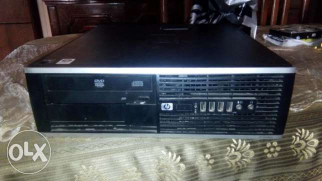HP 6005 AMD×2 CACHE 2 HDD 250 GB RAM 4 GB DD3 VGA 384 MB DVD حى الجيزة -  2