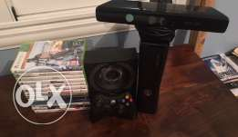 Xbox 360 + 3 Controller + Kinect + 14 Games