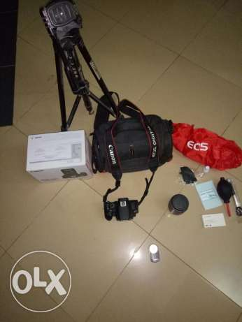 Canon 700 D STM with all accessories