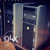 HP Workstation Z620 (DUAL CPU - 6 Cores)