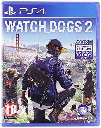 مطلوب 2 watch dogs أو battle field 1