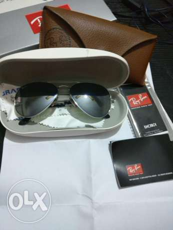 Ray Ban Sunglasses Sliver (Made In Italy)