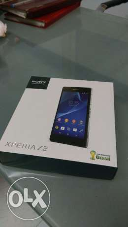 Sony z2 //16GB//black//wight الزيتون -  1