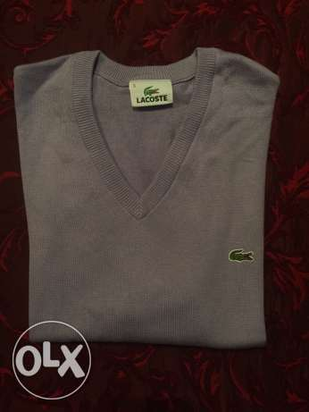 Vest lacoste original size medium 5 , color light purple