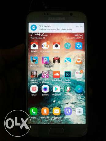 galaxy s6 gold 32 gigs exchange with iphone 6
