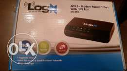 LogN Modem router 1 port for sale مودم راوتر للبيع