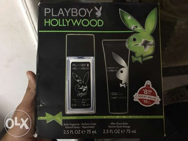 Playboy hollywood set for men orignial 100%