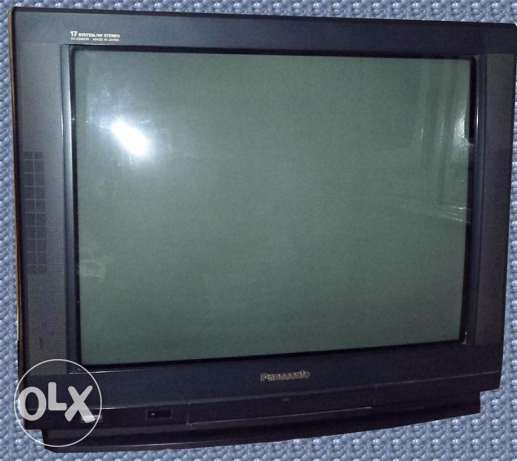 "Panasonic TV 25"" Made in Japan وسط القاهرة -  1"