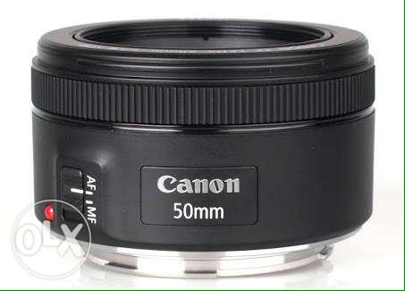 lens canon 50mm stm 1000 g شيراتون -  1