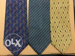 3 high-end brand Ties for man