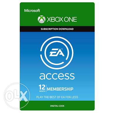 EA Access for xbox one 12 month تم اضافه fifa 17 مصر الجديدة -  1