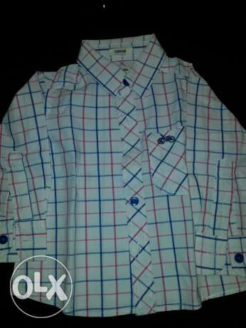 Redtag caro shirt from 3 to 6 month excellent condition