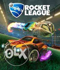 primary account عليه لعبة rocket league ps4 دهشور -  1
