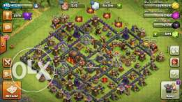 Clash of clan tawn hall 10 max