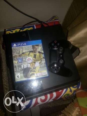 Ps4 excellent use for sale + fifa 17 مدينة نصر -  1