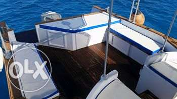 amazing 12 meters boat ready to sail in open sea. الغردقة -  4
