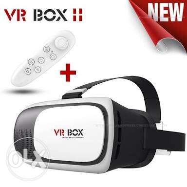vr box with remote new