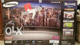 "Samsung SmartTV 55''Curved 670D , Sealed BOX جديد نهائي "" وارد أمريكا"