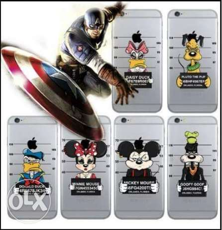 Cover for iphone 6 mickey at prison