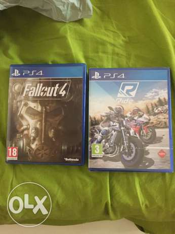 Fallout 4 & Ride PS4 for sale