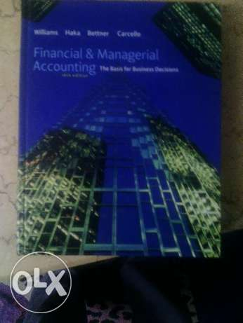 Financial and mangerial accounting