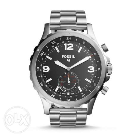 Hybrid Smartwatch - Q Nate Stainless Steel