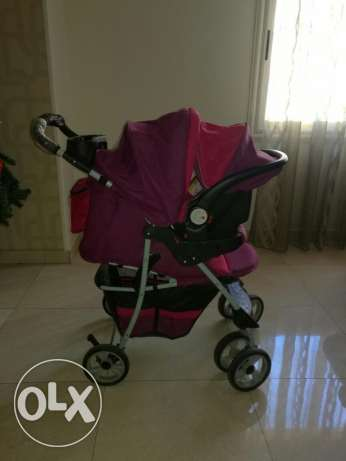 Crib and stroller junior مدينة نصر -  3