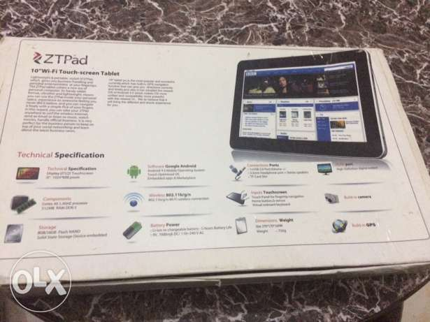 ZTPad tablet from china