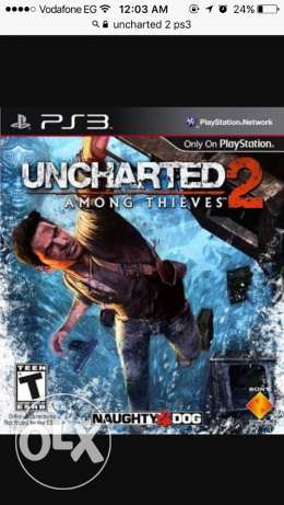 tbdel uncharted 2 PS3 be watch dogs
