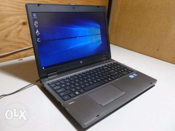 "HP ProBook 6560b 15.6"" Core i5-2520M RAM 4GB Hard 320GB"