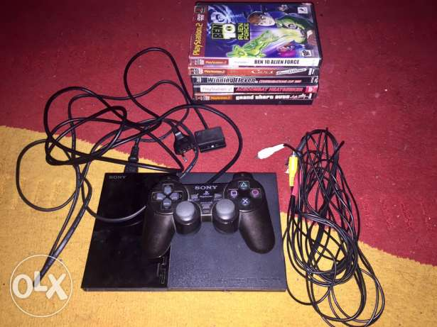 Playstation 2 + 6CD