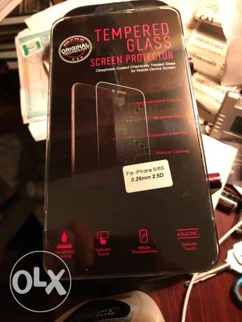 glass screen protector for iPhone 6/6s ستانلي -  1