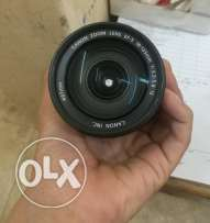 Lens Canon 18-135 is