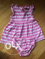 us polo assan baby girl dress from usa