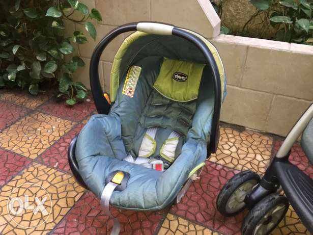 Stroller and Car seat SET الزمالك -  5