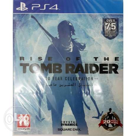 مطلوب rise of tomb raider arabic ps4