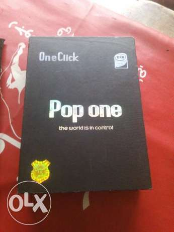 One click pop One كالجديد
