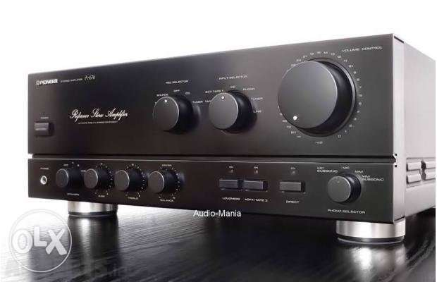 Pioneer A 676 Reference Stereo Amplifier 650w