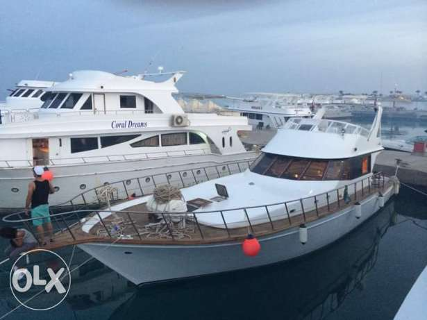 Matrix OO7 yacht ..located in hurghada red sea