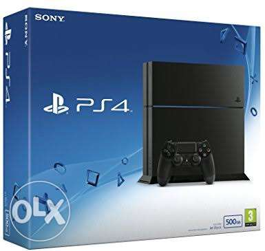 Playstation 4 hard 500 G with one joystic