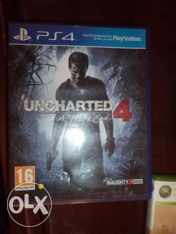 Uncharted 4 Arabic- PS4