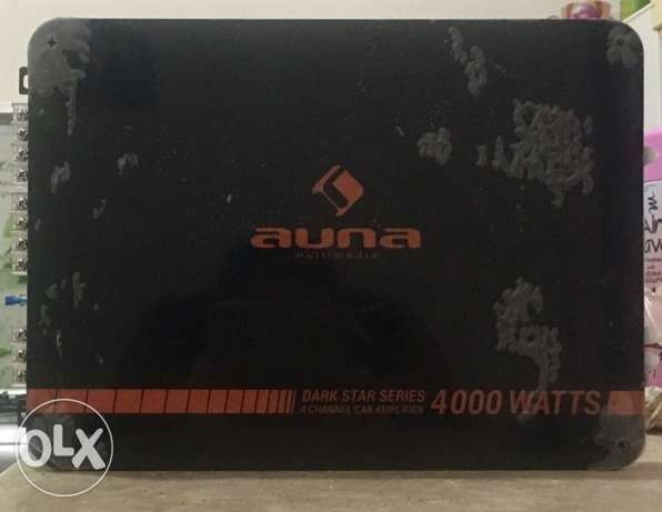 auna amplifier 4000 w new for car